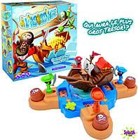 Детская настольная электронная игра Все на борт Splash Toys Пиратский корабль ST30127