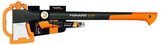 Топор-колун Fiskars L-Х21 122473 + универсальный нож  (1025436), Финляндия