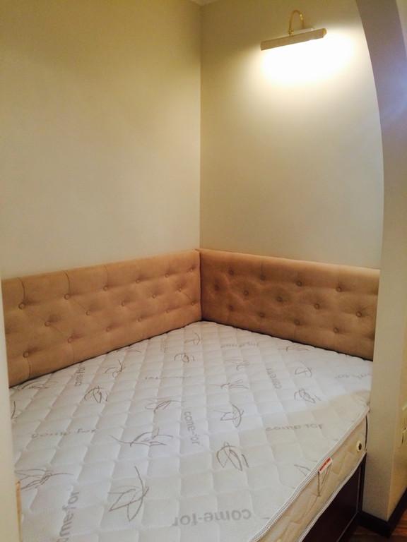 М'які панелі для ліжка в нішу -1