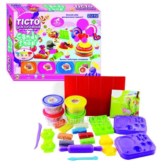 Большой набор теста для лепки Окто Candy Shop 11017 (680г)