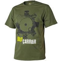 Футболка хлопковая Helikon-Tex Bolt Carrier US Green TS-BCR-CO-29