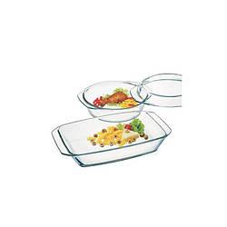 """Набор посуды """"Simax"""", 2 предмета (кастрюля 1,5л, форма 2,4л), COLOR, s307"""