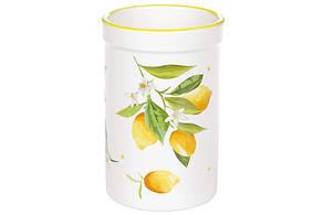 Подставка для кухонных принадлежностей (13*8.6см) керамическая Сочные лимоны, DM959-Y