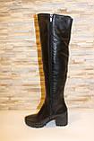 Сапоги ботфорты женские зимние натуральная кожа С826, фото 2