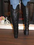Сапоги ботфорты женские зимние натуральная кожа С826, фото 5