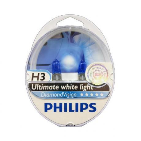 Philips Diamond Vision 5000K H3