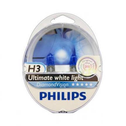 Philips Diamond Vision 5000K H3, фото 2