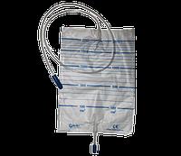 Мочеприемник (мочесборник) 2 л с отверстием для слива стерильный / ВОЛЕС