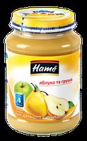 Фруктовое пюре Hame яблоко и груша, 190 г