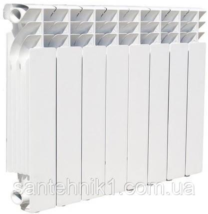 Биметаллический радиатор EKVATOR 500/76, 30 Бар, фото 2