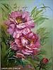 Оригинальный подарок на день рождения Картина Цветы «Розы»