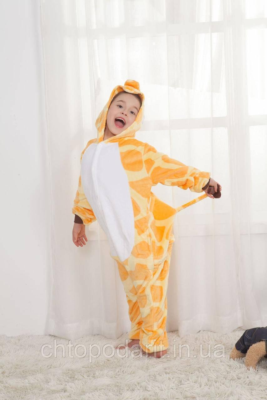 "Пижама Кигуруми детский   ""Жираф"" Код 10-4102"