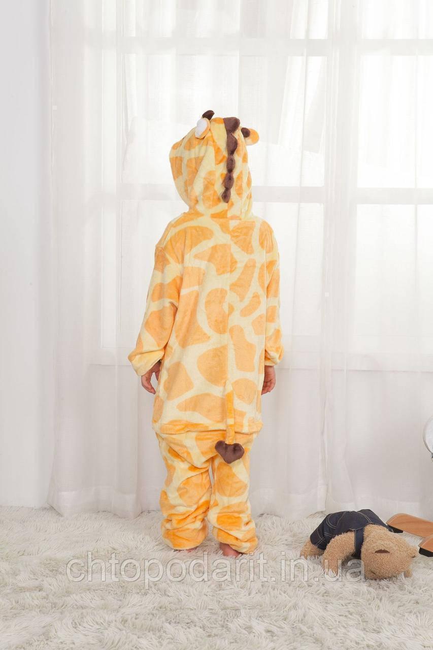 "Пижама Кигуруми детский   ""Жираф"" Код 10-4103"