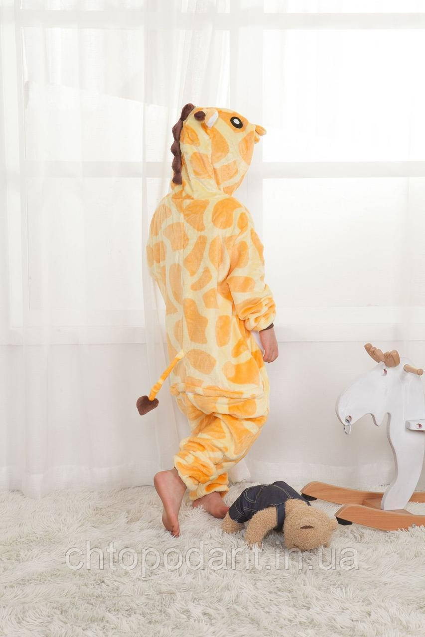 "Пижама Кигуруми детский   ""Жираф"" Код 10-4105"