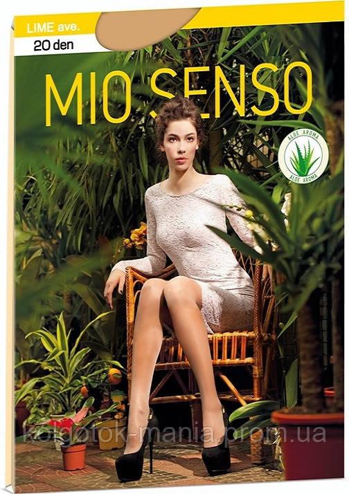 """Колготки Mio Senso """"LIME 40 den"""" eclair, size 4"""