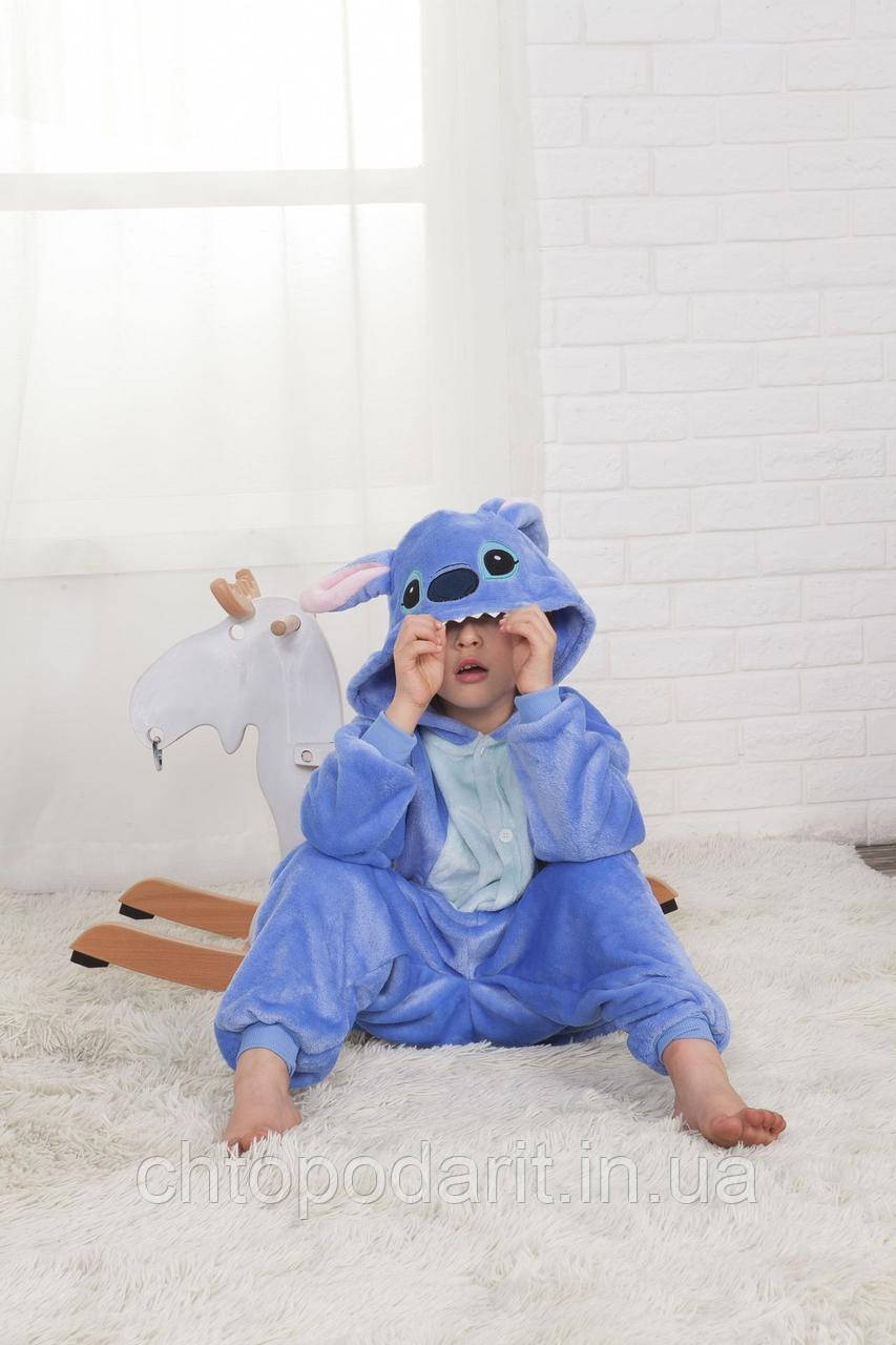 "Пижама Кигуруми детский ""Стич"" Код 10-4175"