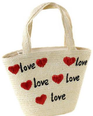 Интересная летняя сумка-корзина Podium  6910 natural, естественный