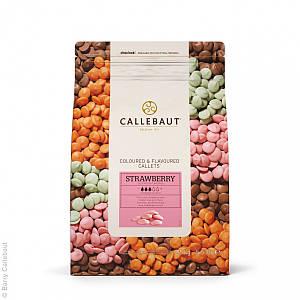 Бельгийский Розовый шоколад со вкусом клубники Barry Callebaut 2,5 кг