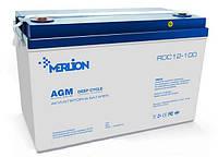 Аккумулятор 12В 80Ач GP12800М8 MERLION