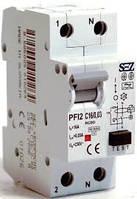 Дифференциальный автоматический выключатель In=10A, 30mA, 1+N (PFI2-C10/0,03)