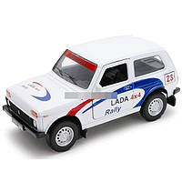 Модель машины 1:34-39 LADA 4x4 Rally WELLY