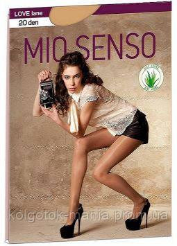 "Колготки Mio Senso ""LOVE lane 20 den"" grey 2"