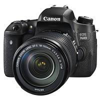 Canon EOS 760D (W) kit 18-135mm EF-S IS STM (в наличии на складе)