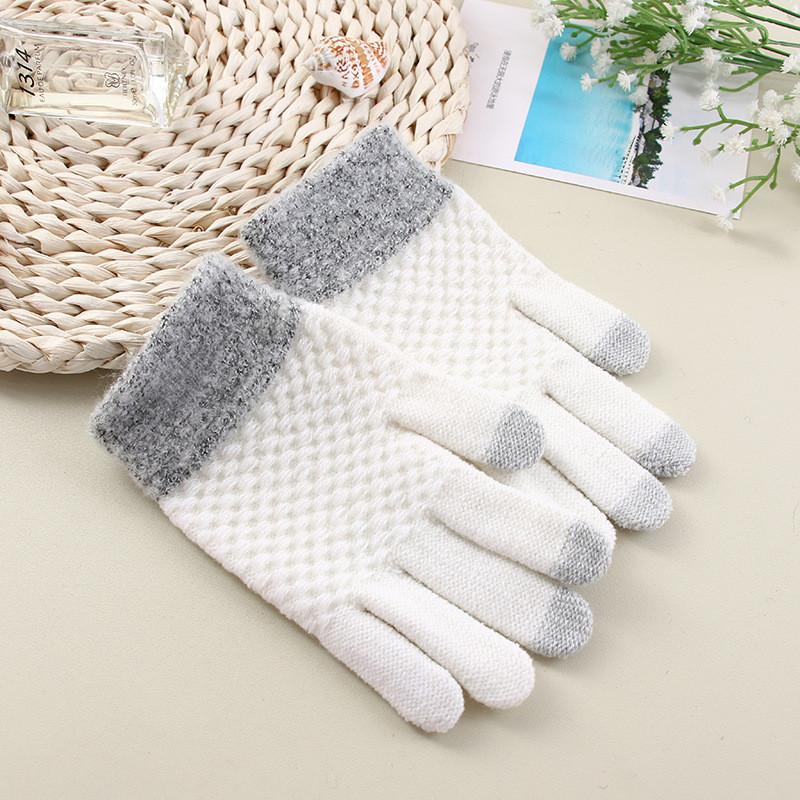 Перчатки для сенсорных экранов Touch Gloves Liberty milk