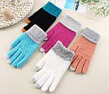 Перчатки для сенсорных экранов Touch Gloves Liberty milk, фото 4