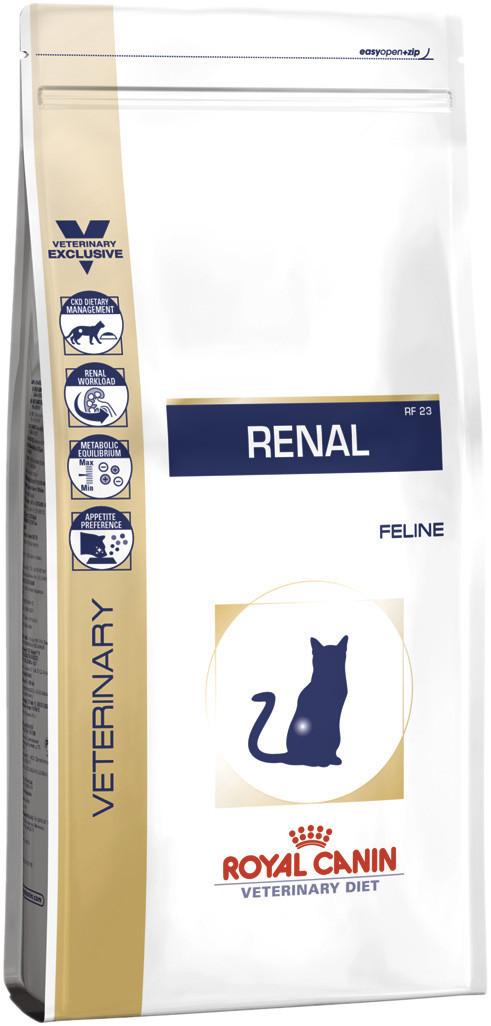 Сухой лечебный корм для кошек Royal Canin Renal 4 кг