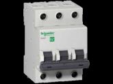 Трехполюсный автоматический выключатель Schneider Electric 6A C