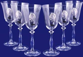 Набор бокалов для вина 250мл 6 шт