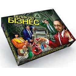 Игра большая настольная УКР. Большой бизнес Danko Toys, фото 2