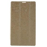 Чехол Подставка Silk Texture Tri-fold для Asus ZenPad C 7.0 Z170 золотой