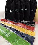 Фитнес резинки для фитнеса 5 шт + чехол , набор лент-эспандеров для фитнеса, петли сопротивления, Товары для, фото 4