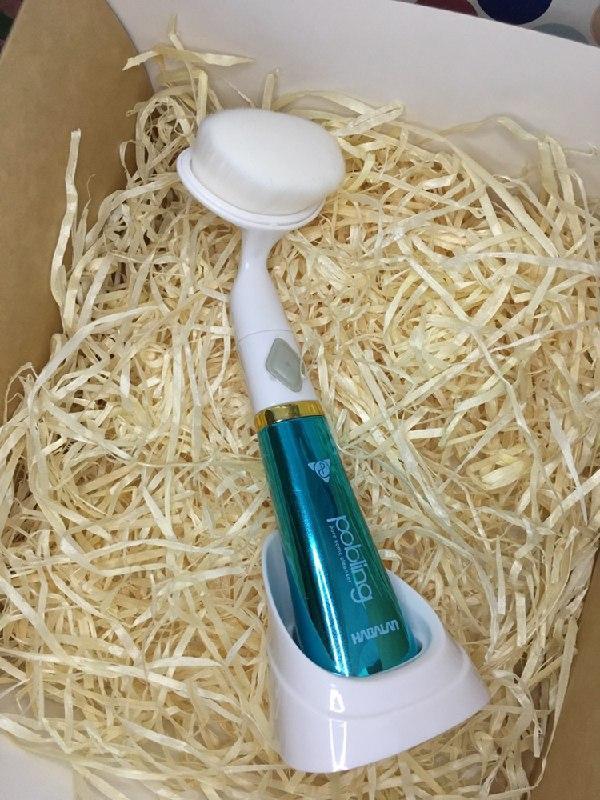 Ультразвуковая щетка для умывания и чистки лица pobling face cleaner, для чистки лица Массажная щетка для