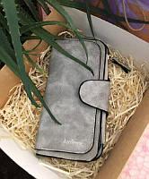 Стильный женский кошелек замшевый baellerry forever n 2345, кошелек женский, женский клатч, фото 1
