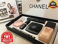 Подарочный набор декоративной косметики Chanel 6 in 1 (Шанель 6 в 1)