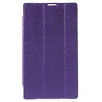 Чехол Подставка Silk Texture Tri-fold для Asus ZenPad C 7.0 Z170 фиолетовый