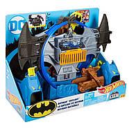 Трек Хот Вилс Убежище Бэтмена Hot Wheels City Batman Batcave, фото 3