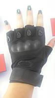 Перчатки тактические Oakley 94025 черные, фото 1