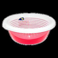 Сушилка для пищевых продуктов круглая 4,2 л красная
