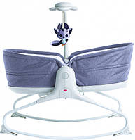 Кресло-кроватка-качалка 3 в 1 Tiny Love Мамины объятия Серый (1804100030)