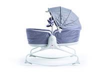 Кресло-кроватка-качалка 3 в 1 Tiny Love Мамины объятия с капюшоном Серый (1805500030)