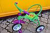 Трехколесный велосипед зеленый
