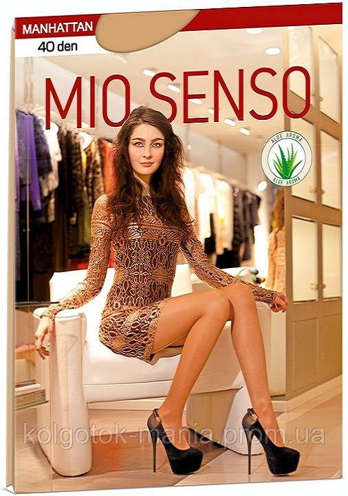 "Колготки Mio Senso ""MANHATTAN 40 den"" eclair, size 2"