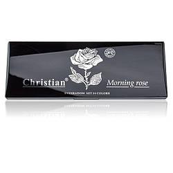 Палетка тіней для повік Morning rose Christian № 02 ES-514