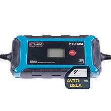Интеллектуальное зарядное устройство для автомобильного аккумулятора Hyundai HY 800