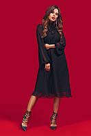 Нарядное шифоновое женское платье Норма
