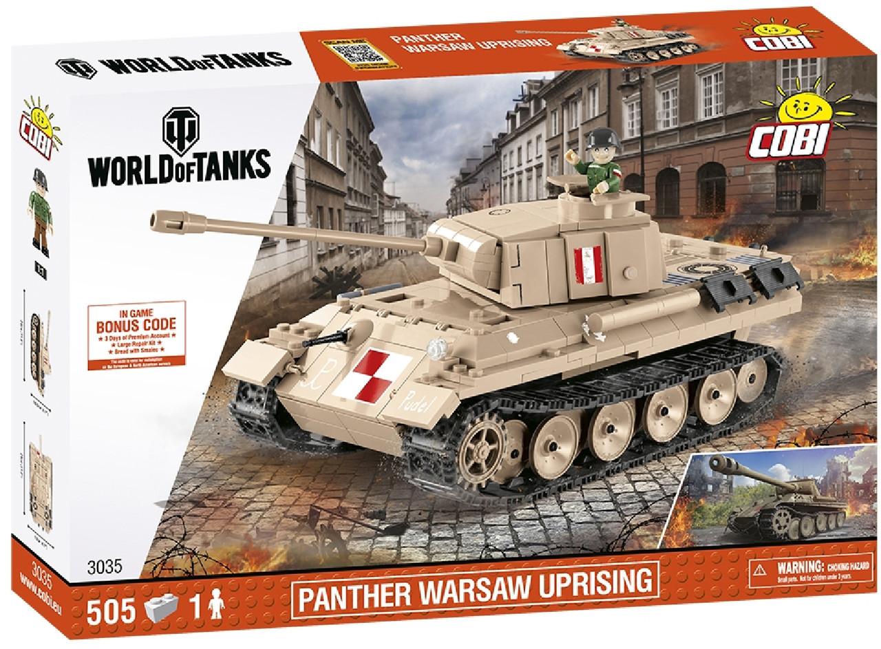 Конструктор Cobi World Of Tanks Пантера 510 деталей (3035) (5902251030353)